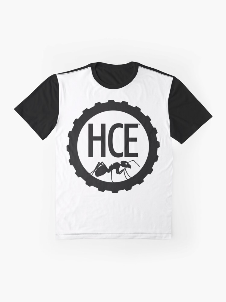 Alternate view of Here Comes Everyone: Minimalist Logo Graphic T-Shirt