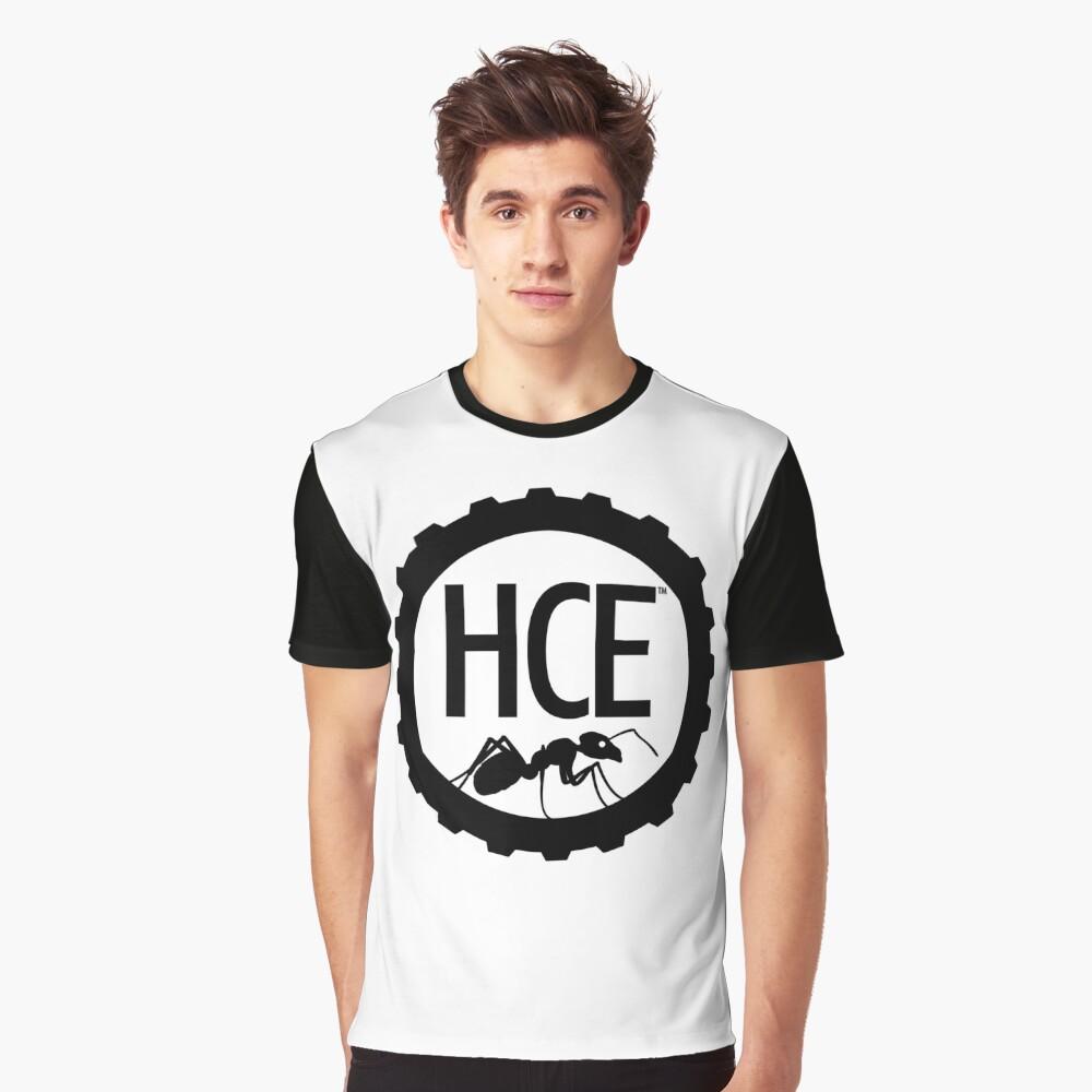 Here Comes Everyone: Minimalist Logo Graphic T-Shirt