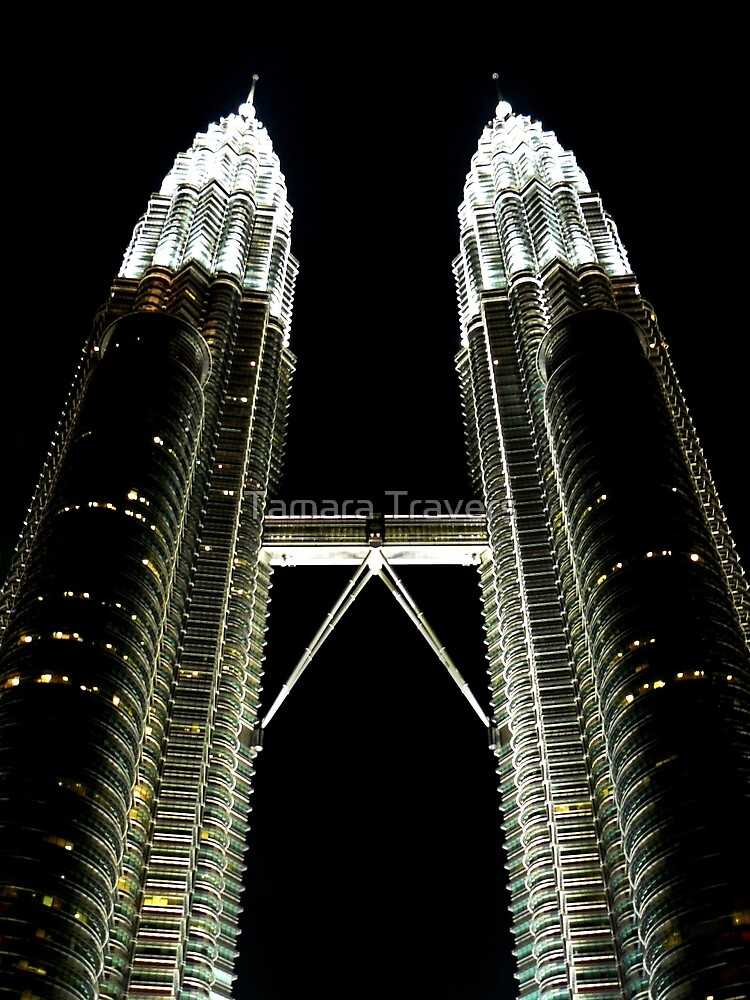 Reach for the Stars.... Petronas Towers, Kuala Lumpur by Tamara Travers