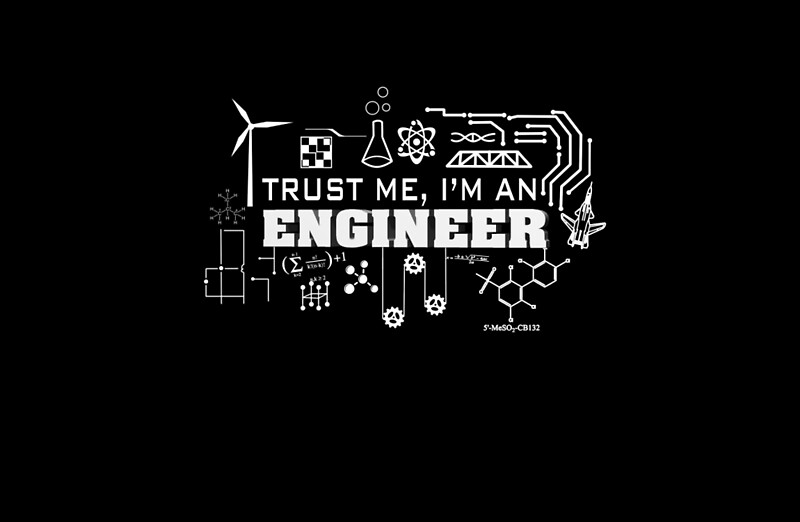 Quot Trust Me I M Engineer Quot Laptop Skins By Vitamin14e Redbubble
