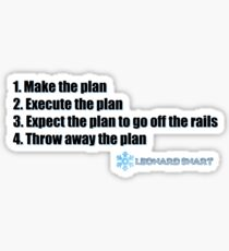 The Ultimate Plan Sticker