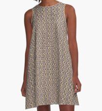 Triangledesign A-Linien Kleid