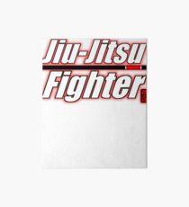 BJJ Black Belt Jiu Jitsu Fighter Art Board