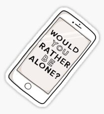 Are We Alone? COIN Phone Sticker
