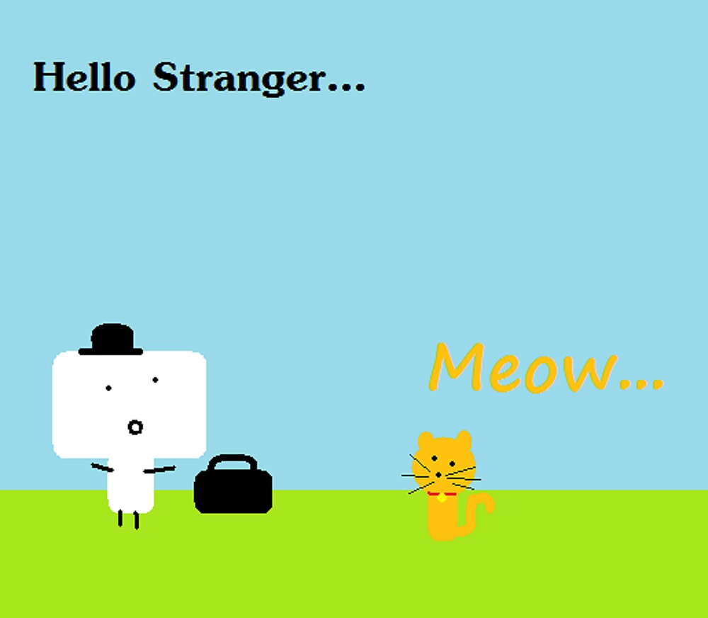 Hello Stranger by PrincessFay