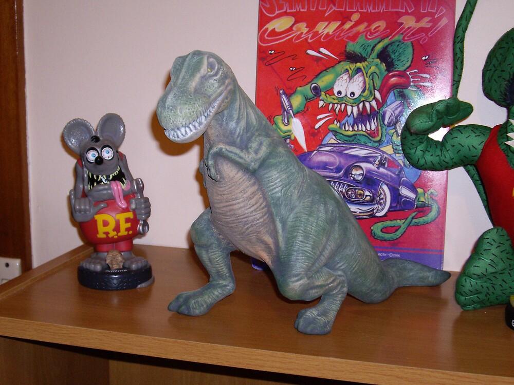 Dinosaur 80% finished by shane71