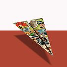 Ideal Boaterific Comic Book Ad Paper Airplane by YoPedro