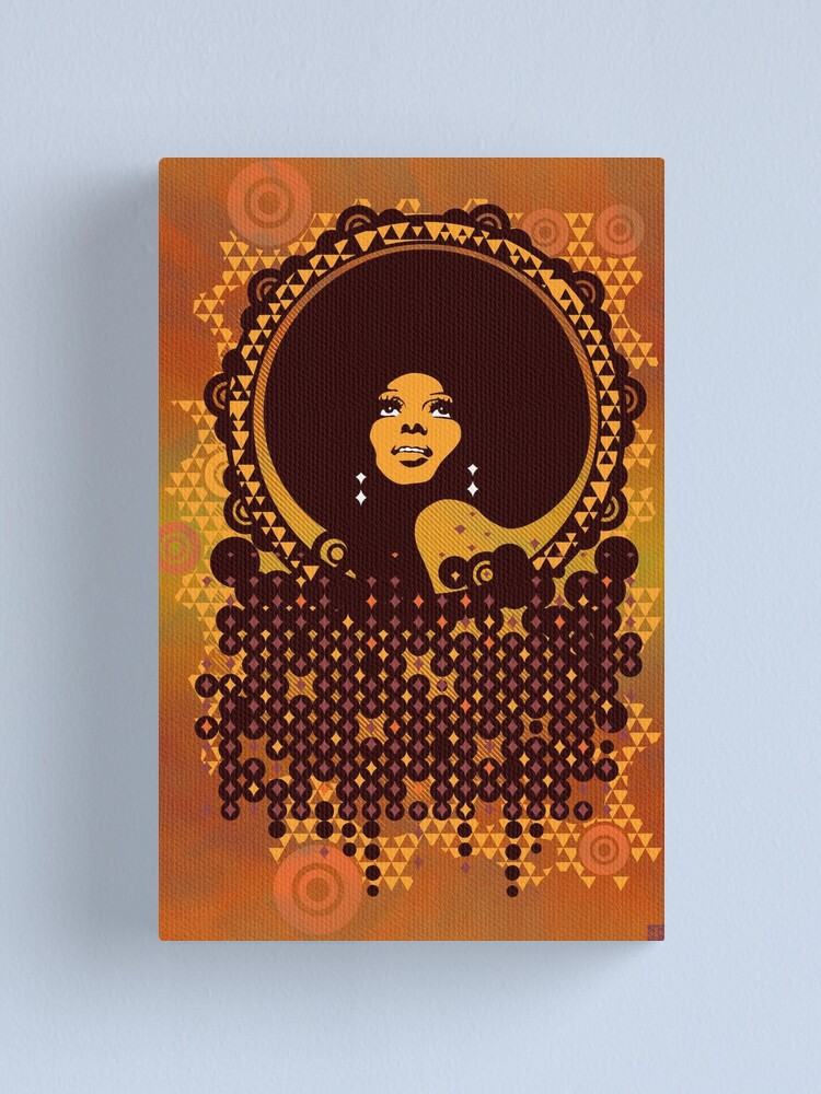 Alternate view of Disco Diva Canvas Print