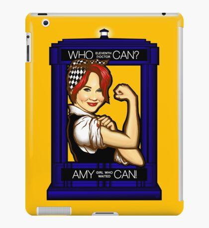 Amy Can! iPad Case/Skin