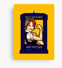 Amy Can! Canvas Print