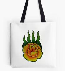 Game of Thrones Wildfire Rose Tote Bag