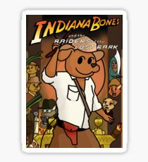 Indiana Bones and the Raiders of the Lost Bark Sticker