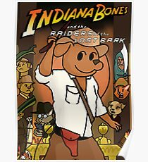 Indiana Bones and the Raiders of the Lost Bark Poster