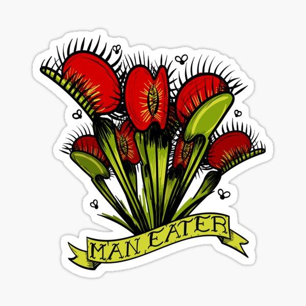 Man Eater Sticker