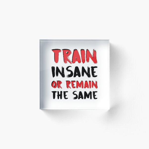 Train, Insane Acrylic Block