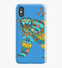 Polar Bear, cool art from the AlphaPod Collection iPhone Case