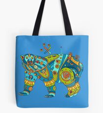 Polar Bear, cool art from the AlphaPod Collection Tote Bag