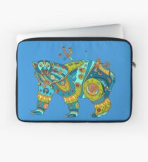 Polar Bear, cool art from the AlphaPod Collection Laptop Sleeve