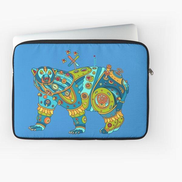 Polar Bear, cool art from the AlphaPod Collection Laptop Sleeve