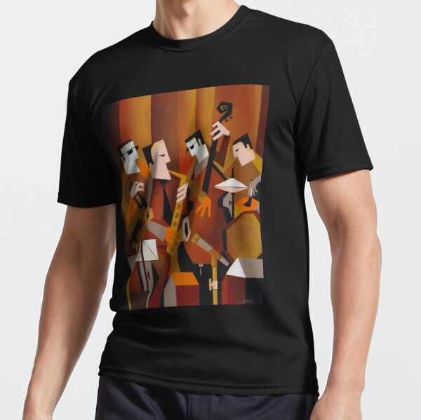 BERNIE McGANN QUARTET Active T-Shirt