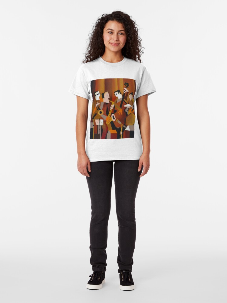 Alternate view of BERNIE McGANN QUARTET Classic T-Shirt