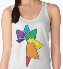 Rainbow Flower Women's Tank Top