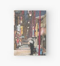 Lights in the Snow Hardcover Journal