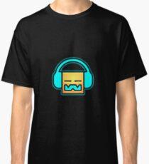 Geometrie Dash Kopfhörer Classic T-Shirt