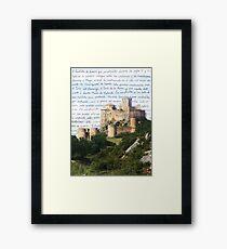 El Castillo De Loarre Framed Print