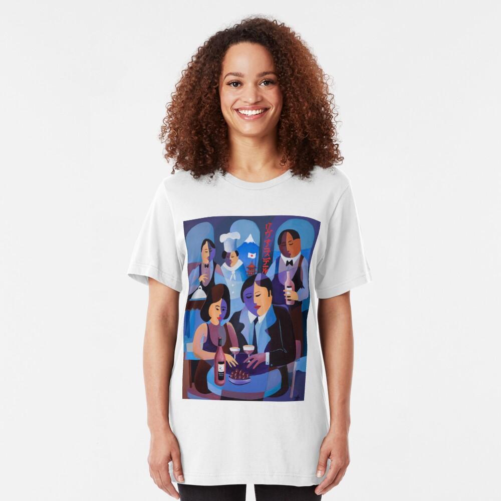 THE LAST DINERS, JAPAN Slim Fit T-Shirt