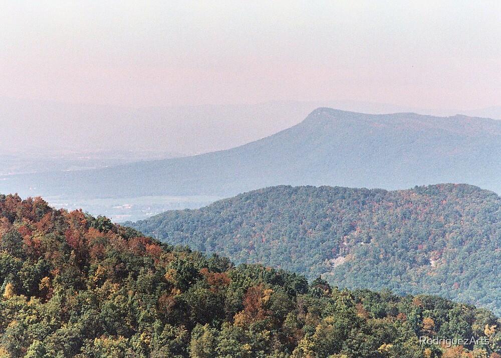Massanutten Mountain by RodriguezArts