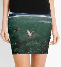 Theodor Kittelsen The twelwe wild Ducks Mini Skirt