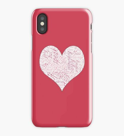 1 Corinthians 13 LOVE iPhone Case