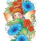 Morning Glory Fairy by Destiny Lauritsen