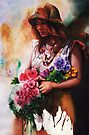 The Flower Girl by Peter Williams