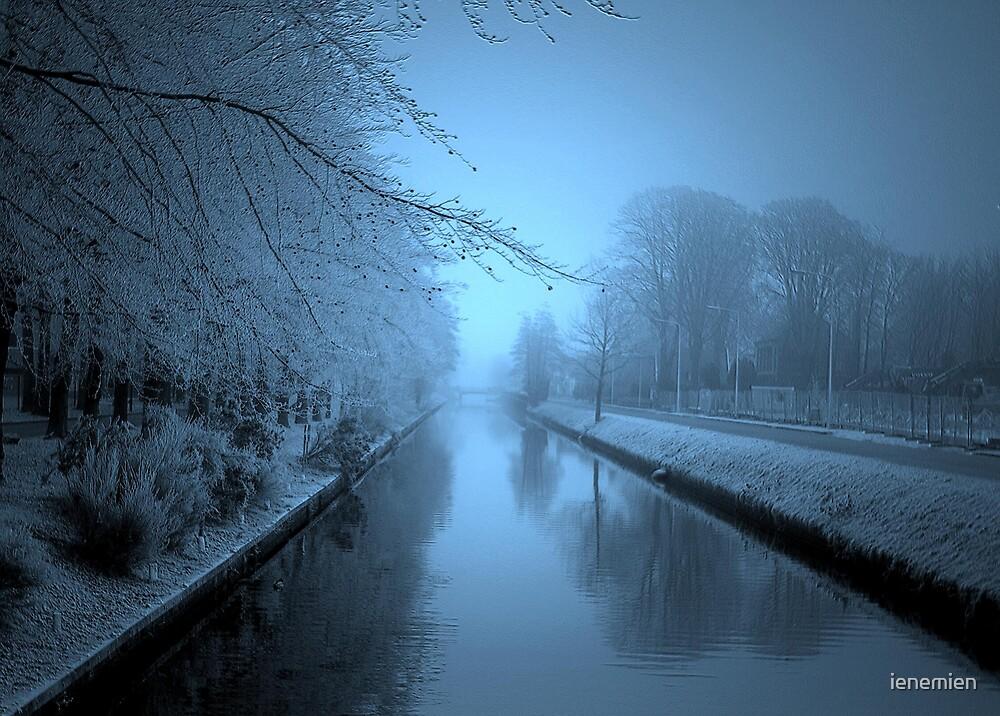 The Winter Stream by ienemien