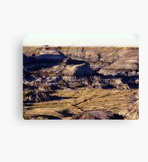 Prairie Canyon Canvas Print