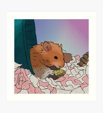 Teddy Bear Hamster Wall Art | Redbubble