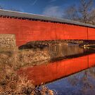 Reflections Upon a Covered Bridge by Terence Russell