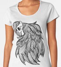 Raindbow Dash Op Art Women's Premium T-Shirt