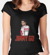 Jimmy GQ - San Francisco Women's Fitted Scoop T-Shirt