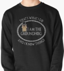 Groundhog Day T-Shirt - Happy Groundhog Day 2018 Gift Pullover