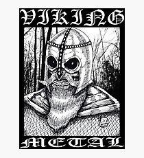 Viking Metal Photographic Print