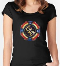 Jeff Lynne Played Beatifull Song Women's Fitted Scoop T-Shirt