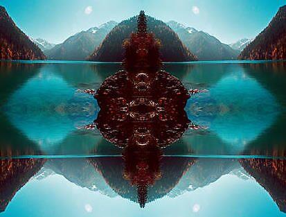 Blue Buddha -1A by kevin  gerien