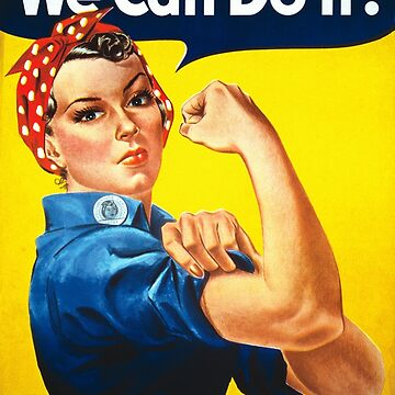 Feminism We Can Do It! by nomadshirts