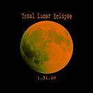 Total Lunar Eclipse 2018 by EthosWear