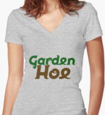 Garden HOE Women's Fitted V-Neck T-Shirt