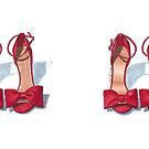 Red bow Heels by Elza Fouche