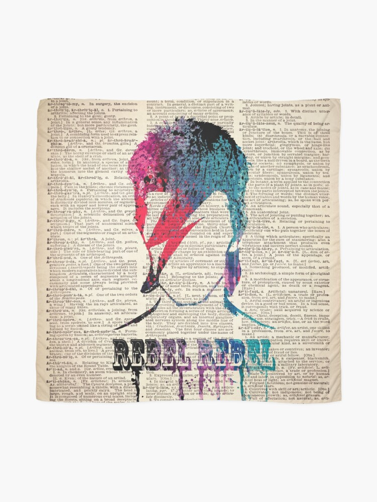 Alternate view of REBEL REBEL on dictionary page #BR Scarf